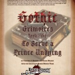 EZG reviews Gothic Grimoires: To Serve a Prince Undying