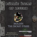 EZG reviews Psionic Items of Legend: Moldev, the Secret Strike
