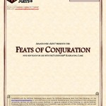 EZG reviews Feats of Conjuration