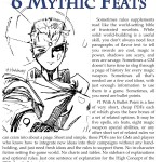 EZG reviews Bullet Points: 6 Mythic Feats