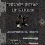 EZG reviews Psionic Items of Legend: Groundscorn Boots