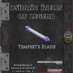 EZG reviews Psionic Items of Legend: Tempest's Blade
