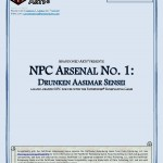 EZG reviews NPC Arsenal: Drunken Aasimar Sensei