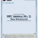 EZG reviews NPC Arsenal: Troll Witchdoctor