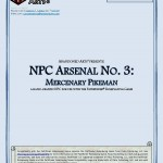 EZG reviews NPC Arsenal: Mercenary Pikeman