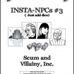 Insta-NPCs #3: Scum & Villainy, Inc. (System-neutral)