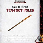 Call to Arms: Ten-Foot Poles