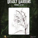 Deadly Gardens: Phoenix Lily (D&D 5e)
