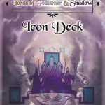 Lords of Gossamer & Shadows Icon & Icon NPC Decks (Diceless/system-neutral)