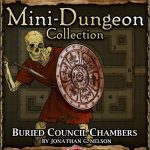 5E Mini-Dungeon: Buried Council Chambers (5e)