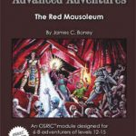 Advanced Adventures: The Red Mausoleum (OSR)