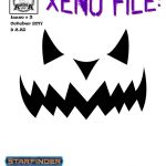 Xeno Files #3: Halloween Edition (SFRPG/PFRPG)