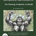 Advanced Adventures: The Flaming Footprints of Jilanth (OSR)