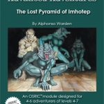 Advanced Adventures: The Lost Pyramid of Imhotep (OSR)