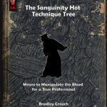 The Assassin: The Sanguinity Hot Technique Tree