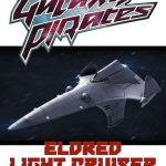Galaxy Pirates: Ships - Eldred Light Cruiser (SFRPG)