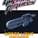 Galaxy Pirates: Ships - Katar Light Cruiser (SFRPG)