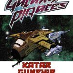 Galaxy Pirates: Ships - Katar Gunship (SFRPG)