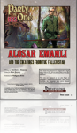 Party of 1: Alosar Emanli and the Creatures from the Fallen Star